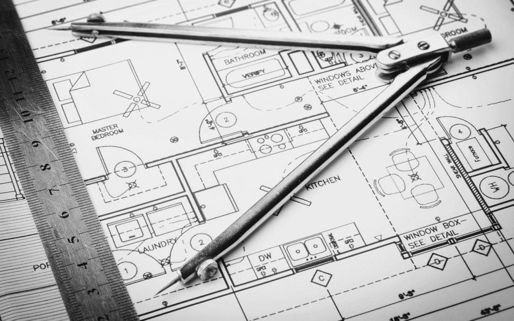 Konzeptionierung Wohnungsfläche, Zeichnung Grundriss Wohnung