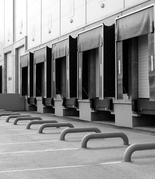 Logistikeingang, Wareneingang und-ausgang